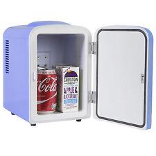 iceQ 4 Litre Portable Small Mini Fridge For Bedroom, Mini Cooler, Warmer In Blue