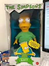 "The Simpsons ""Really Rude Bart"" 1990 Vintage Mattel Doll #9203 - In Box"