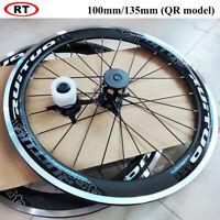 "20""(451) BMX Bike Front Rear Wheels 100/135 Disc brake Hub Bicycle Rim Wheelset"