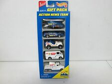 Hot Wheels 5 Pack Gift Set Action News Team with Helicopter 395