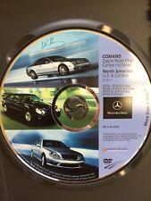 04-06 Mercedes CL,S,SL,SLK, E,CL CLS, Navigation DVD 7.0 - Map Q6460209