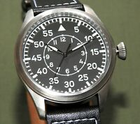 German WW2 MWC LUFTWAFFE PILOT B-UHR AUTOMATIC WRIST WATCH MINT Flight Aviator