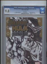 Ultimate Wolverine vs Hulk Directors Cut #nn CGC 9.8 Sketch cover