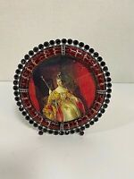 Jay Strongwater Circular Red Frame with Red Swarovski Crystals - Rare w/ Box
