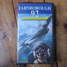Farnborough Air Show 1992 92 90s Aviation Airplane Vintage VHS Video Tape PAL