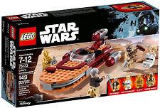 LEGO Star Wars - 75173 De lucas Aerodeslizador con Luke Skywalker Ben Kenobi