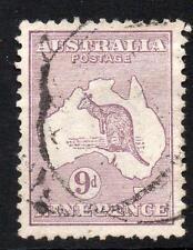 AUSTRALIA 1913 SG10 9d VIOLET USED