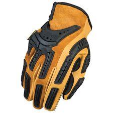 Mechanix Wear Full Leather Gloves, Medium