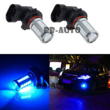 2X 9006 HB4 9005 High Power LED BLUE 6000K 60W Fog Light Driving Lamp Bulb