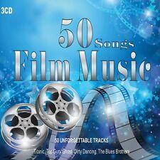 3 CD 50 Songs Film Music, Soundtracks, Film, Colonne Sonore Piano Music