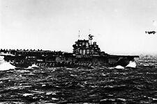 New 5x7 World War II Photo: USS HORNET Launches B-25 Aircraft on Doolittle Raid