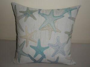 Starfish Green Blue Teal Sea Beach Marine Coast Cushion Cover 45cm Au Handmade