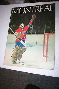 1970-71 MONTREAL CANADIENS SPORTS MAGAZINE- FROM THE GARDENS- EXTREMELY RARE!