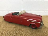 Rare 1950s Schuco #4003 Combinato Car, Germany US Zone, Wind-Up