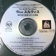 SALE! Elvis PRESLEY official Japan PROMO ONLY 12 track CD acetate Viva! GENUINE