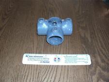 Kee Klamp 35-6 Three Socket Cross, Galvanized