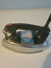 Vtg Black & Decker The Classic Press Steam And Dry Iron