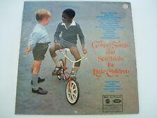 Sunbury Junior Singers Gospel songs & spirituals for little children - LP