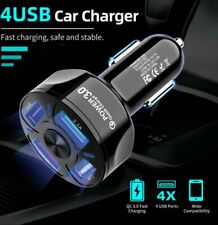 Fast Car Charger 2/3/4-Port USB 7A For iPhone iPad  Universal Socket Adapter·