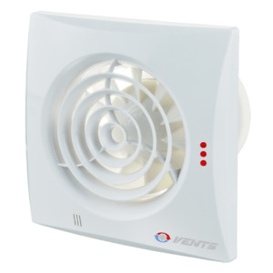 Badlüfter WC-Lüfter Vents Quiet 100 125 150 mm T, TH / Timer, Hygro leise