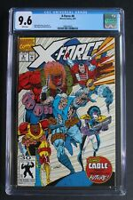 X-FORCE #8 1st Wildpack 1st True Thurman DOMINO 1992 1st ORIGIN of CABLE CGC 9.6