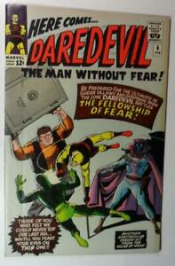 DAREDEVIL #6 FEB 1964 MARVEL COMICS DR FEAR WALLY WOOD VF 8.0 NO STAPLES BINDERY