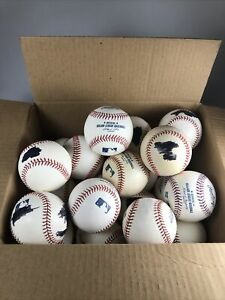 Lot of 22 Rawlings MLB Official Major League Baseballs with Blemishes