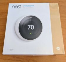 Nest 3rd Generation Learning White Programmable Thermostat Brand New