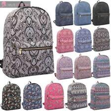 Bolsos de mujer mochila de lona