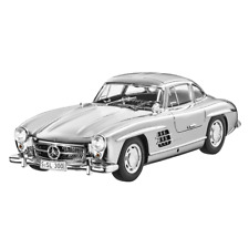 MERCEDES-BENZ 300 SL COUPE CHROM SILVER SILBER 1954 LTD 1,954 W198 1/18 NEW OVP