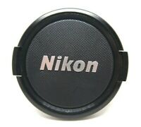 Nikon Genuine Original 58mm Front Lens Cap Nikkor Silver logo jan222