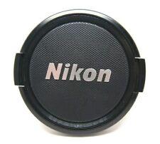 Nikon Genuine Original 58mm Front Lens Cap Nikkor Silver logo jan222