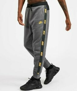 Nike Hybrid Jog Pant Grey / Yellow Size : Small