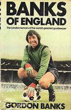 "Gordon Banks SIGNED 1980 autobiography - ""BANKS OF ENGLAND"""