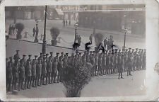 WW1 Soldier group 5th Kings Liverpool Regiment on Parade Liverpool ?