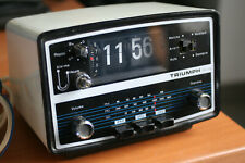 radio reveil triumph vintage 1970