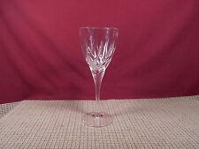 "Royal Crystal Rock Crystal Trix Pattern White Wine Goblet 8 1/4"" x 3 1/4"""