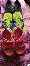 Boys Clarks Sandals Size 9.5 +  pumps & flipflops  Size 10 Bundle,FREE POSTAGE!!