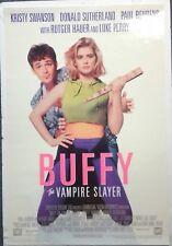 """""""Buffy The Vampire Slayer"""" ORIG 1992 1SH VIDEO Poster 27x40 VG+ JOSS WHEEDON"""