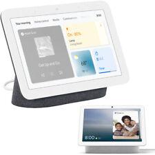 Asistente de pantalla con concentrador Nido de Google, carbón (2nd Gen.) + Nido Hub Max-Tiza