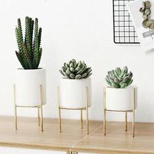 1 Pc Nordic Iron Ceramic Art Vases Simple Tabletop Vase Frame Ceramic Coffee