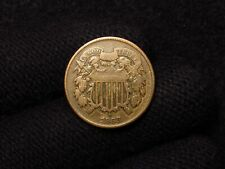 1868 2 Cent Piece F+/VF