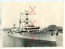 INCROCIATORE EMDEN-ORIG. foto-viaggio all'estero 1938 - 18x24 cm-Agfa Brovira, Photo