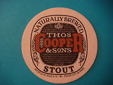 Beer Coaster ~*~ Thomas COOPER & Sons Brewery & Homebrewing Supplier ~ AUSTRALIA