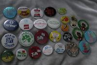 Job lot collection vintage advertising & wildlife badges