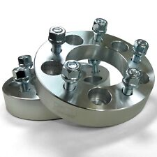 Wheel Spacers 5x4.75 1.25 inch Thick 12x1.50mm Stud Billet Aluminum Set of 2
