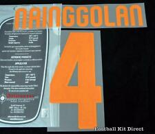 Roma Nainggolan 4 Football Shirt Name/Number Set Kit Home Serie a 2015/16
