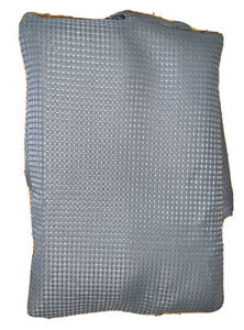 Embossed Waffle Weave Fabric Shower Curtain Gray Mainstay