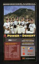 Arizona State Sun Devils--2005 Baseball Magnet Schedule