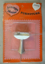Vintage Dolls House Carded Triang Jenny's Home Retro Bathroom Sink #2 - J2003